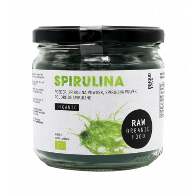 Biologische spirulina poeder raw van Raw Organic Food