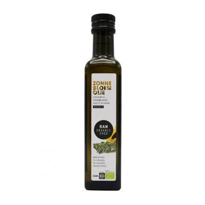 Zonnebloemolie Raw Bio (250 ml)