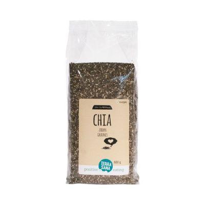 Glutenvrij chiazaad zwart Biologisch (600 gram)