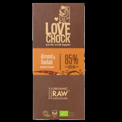 LoveChock Almond & Baobab 85%