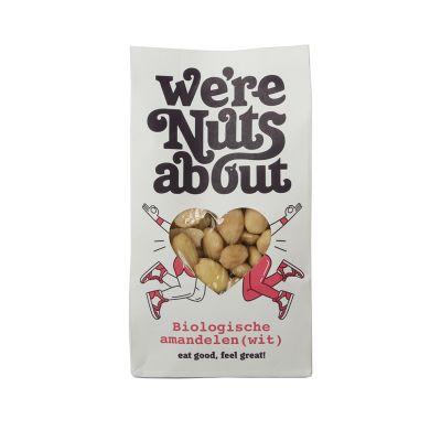Biologische witte amandelen van We're Nuts About