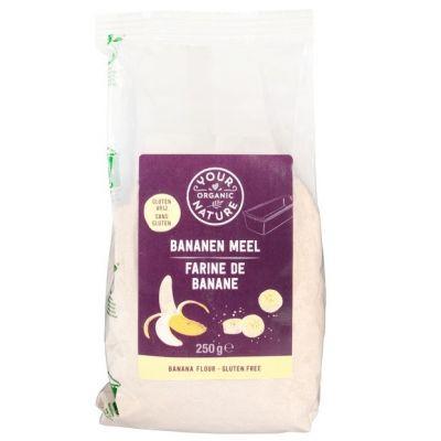 Biologisch bananenmeel van Your Organic Nature