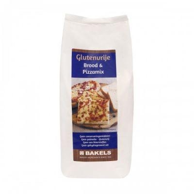 Brood & Pizzamix Glutenvrij (1000 gram)