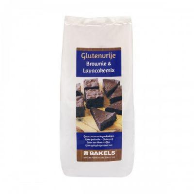 Brownie & Lavacakemix Glutenvrij (1000 gram)