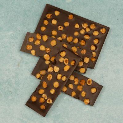 Chocolade Hazelnoot Breekplaat Puur (Brokken)
