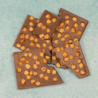Chocolade Hazelnoot Breekplaat Melk (Brokken)