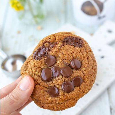 Koekjesdeeg voor Haverkoeken met Chocolade