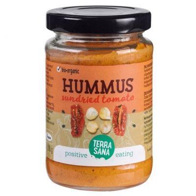 Zongedroogde tomaten Hummus van Terrasana