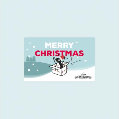 De Notenshop cadeaubon kerstmis