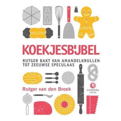 Kaft van de koekjesbijbel van Rutger van Den Broek
