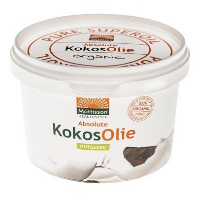 Kokosolie Bio Ontgeurd (500 ml)