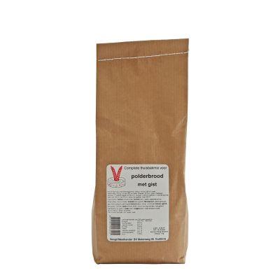 Polderbrood met gist (1000 gram)