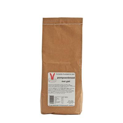 Pompoenbrood met gist (1000 gram)