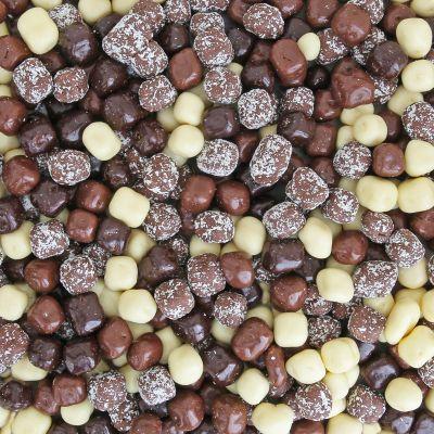 Chocolade kokosblokjes