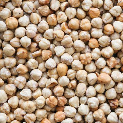 Geroosterde Witte Hazelnoten
