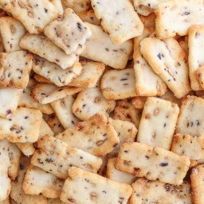 Rijstcrackers nutcookies