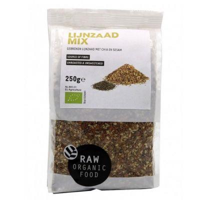 Lijnzaadmix Chia-Sesam Bio (250 gram)