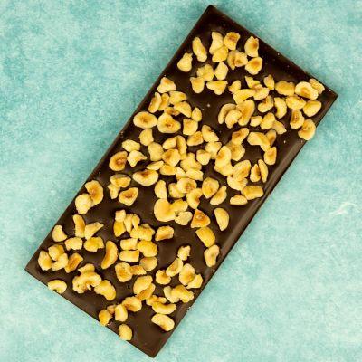 Chocoladereep puur met hazelnoot