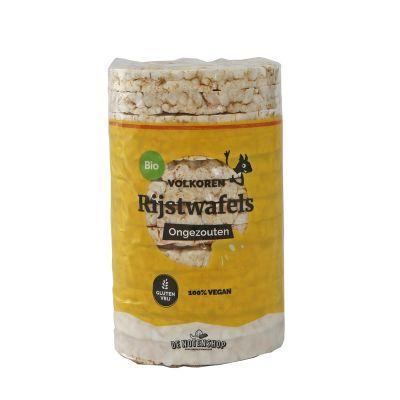 Ongezouten volkoren rijstwafels