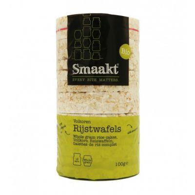 Rijstwafels Volkoren Bio (100 gram)