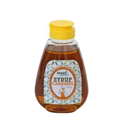 Stevia syrup caramel