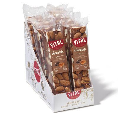 Luxe nougat reep chocolade