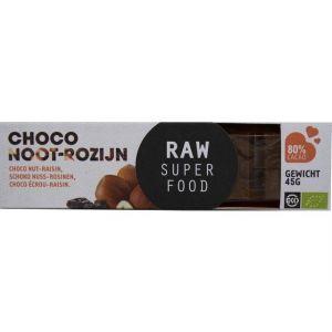 Choco Reep Noot-Rozijn Bio