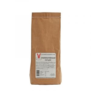 Maïskornbrood met gist (1000 gram)