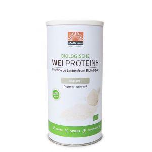 Wei Proteïne Naturel Biologisch (450 gram)