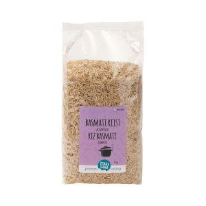Glutenvrije basmati rijst bruin biologische (1000 gram)