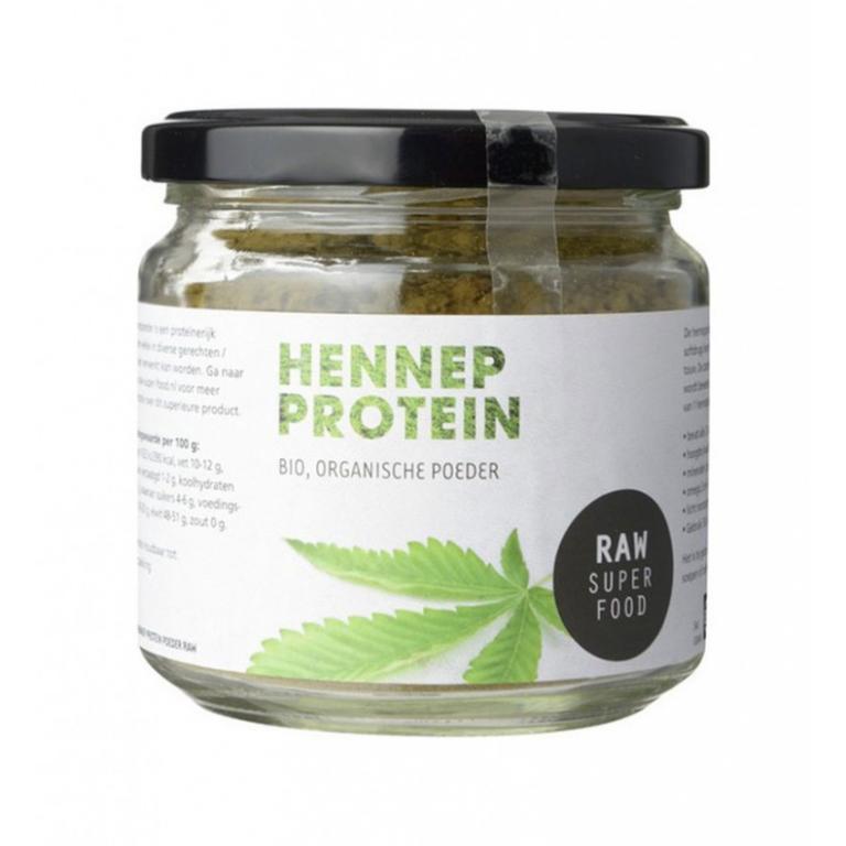 Hennep Proteïne Poeder Bio Raw (100 gram)