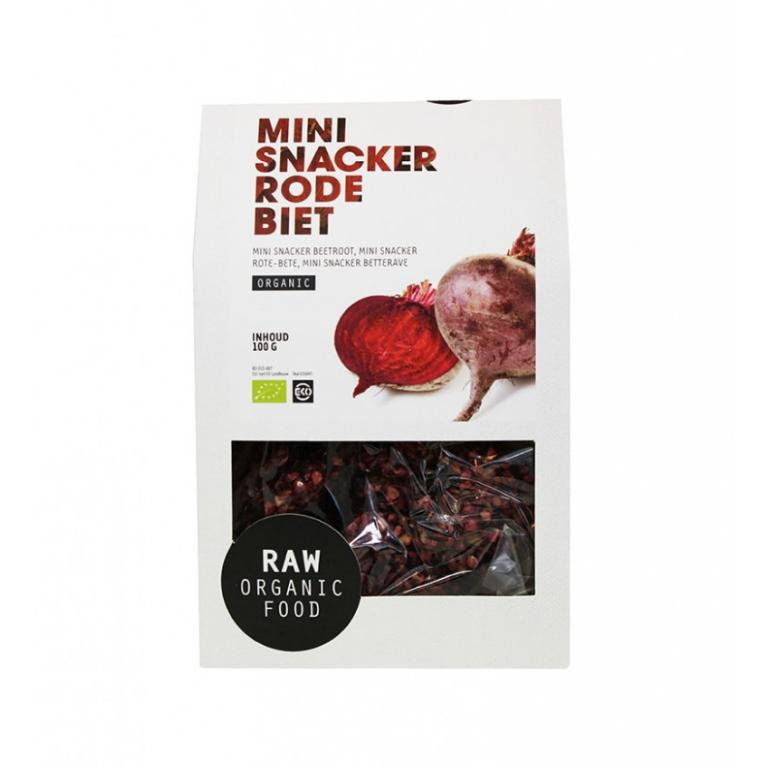 Mini Snacker Rode Biet Raw Bio (100 gr)