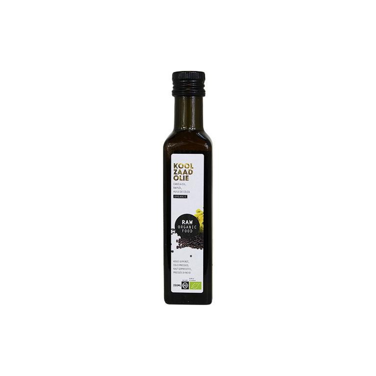 Koolzaadolie Raw Bio (250 ml)