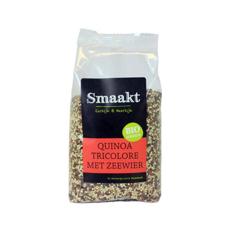 Quinoa tricolore Zeewier Bio (400 gr)