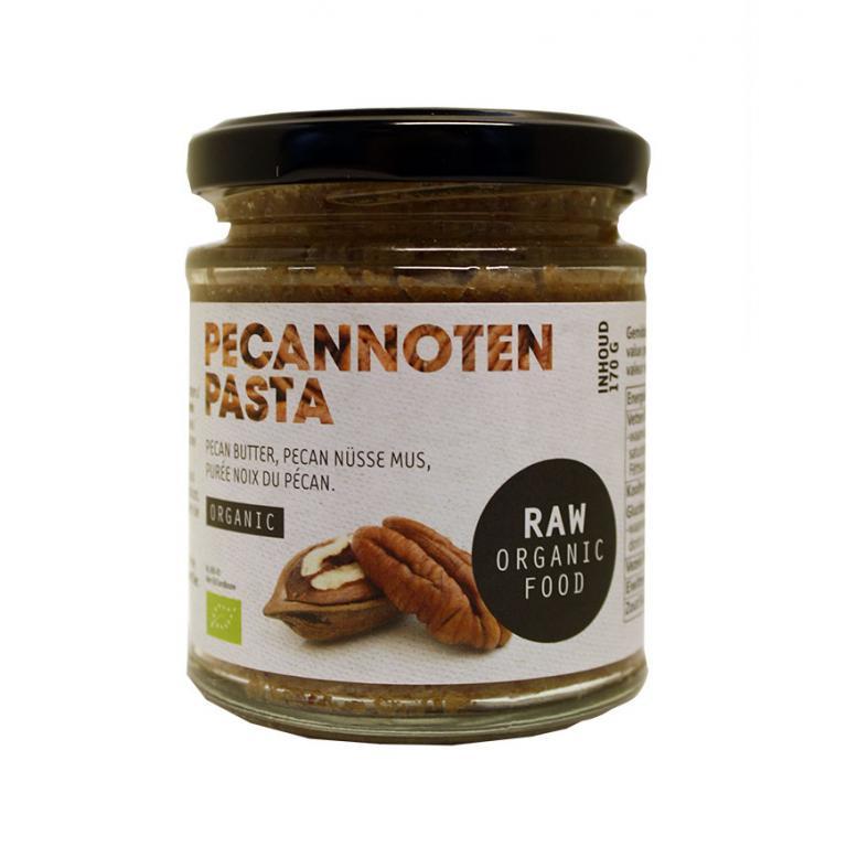 Pecannotenpasta Raw Bio (170 gram)