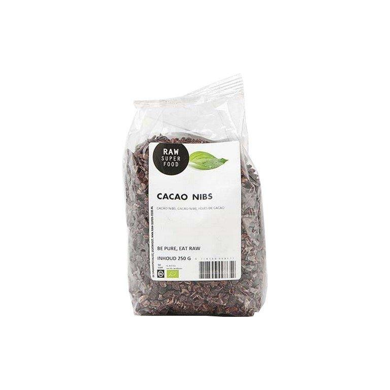 Cacao Nibs Raw Bio (250 gr)