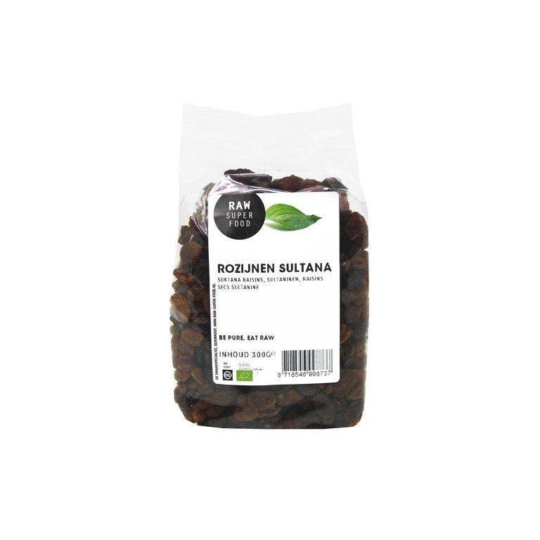 Rozijnen Sultana Raw Bio (300 gr)