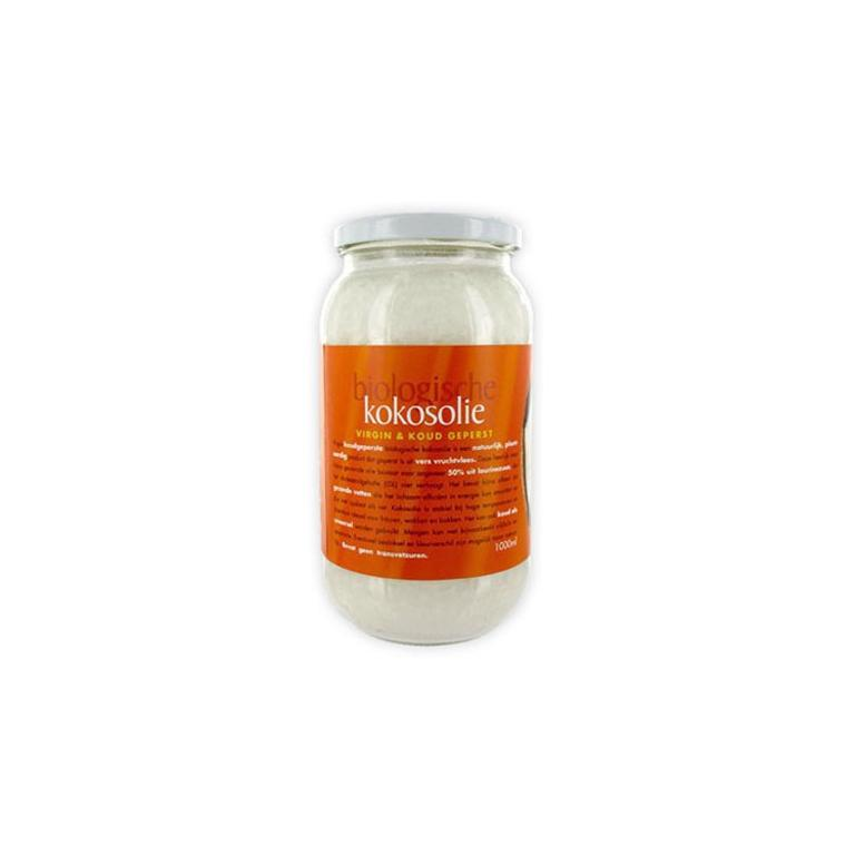 Kokosolie Extra Virgin Biologische (1000 ml)
