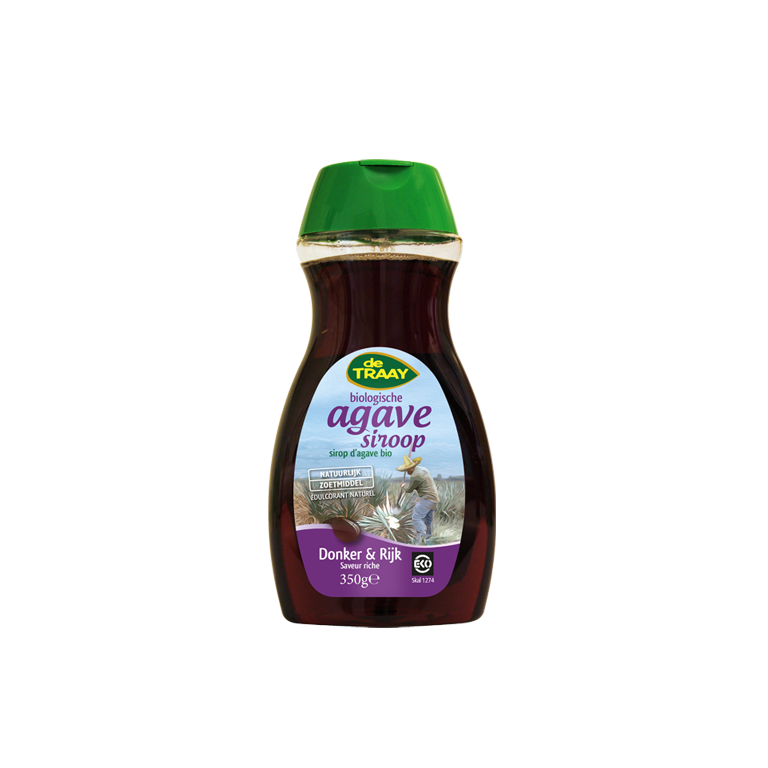 Agavesiroop Rijk & Donker Bio (350 gram)