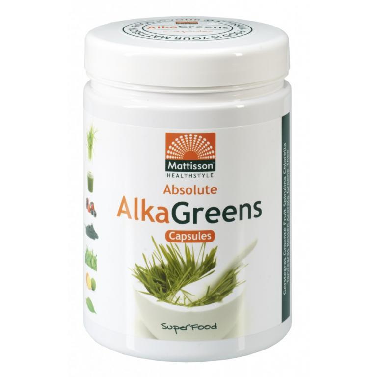 AlkaGreens Capsules (750 mg)