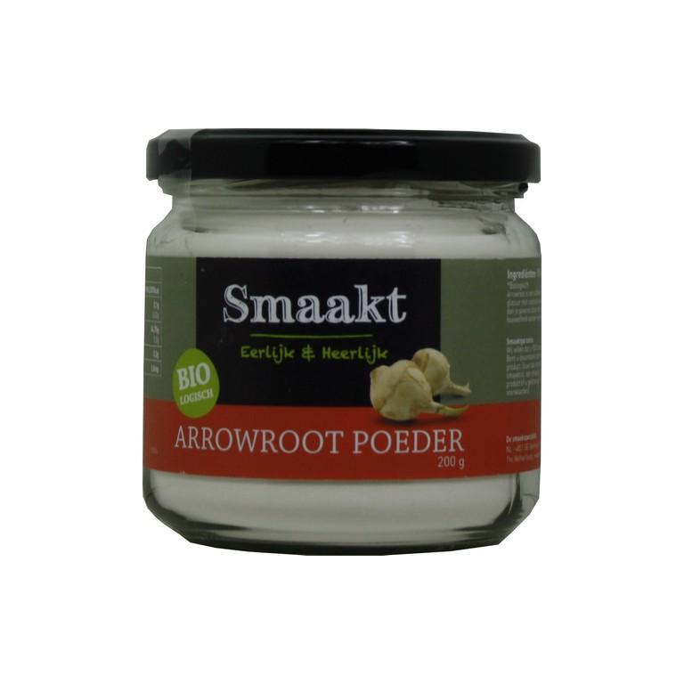 Arrowroot Poeder Bio (200 gr)