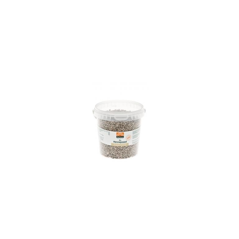 Hennepzaad Ongepeld Bio Raw (400 gram)