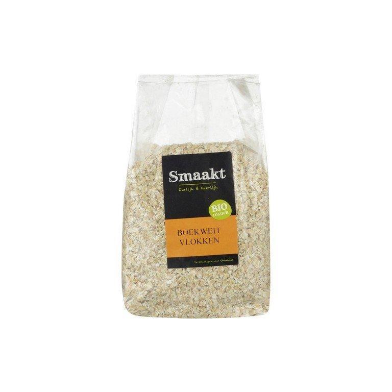 Boekweitvlokken Bio (500 gram)