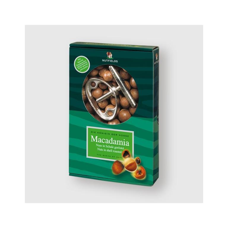 Macadamia Noten (In Dop) + Kraker