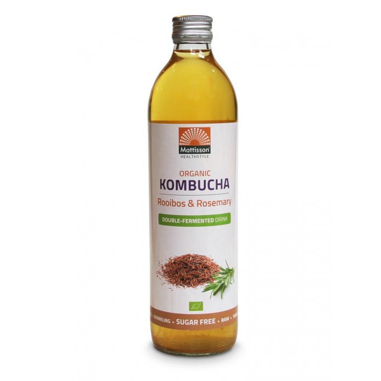 Kombucha Rooibos & Rosemary Bio (500 ml)