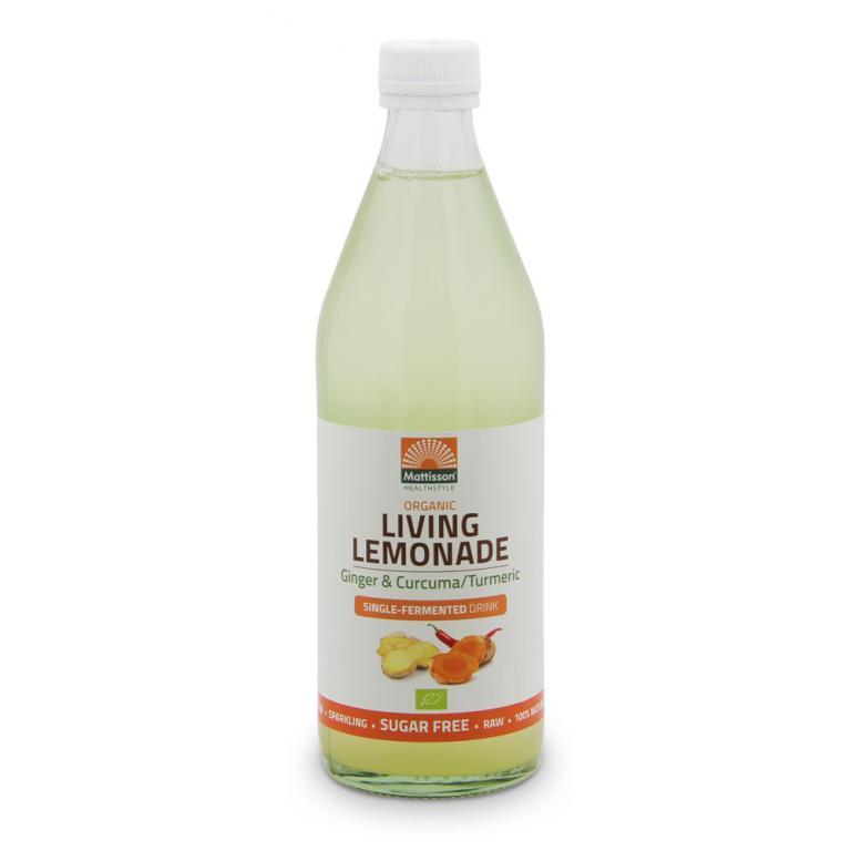 Living Lemonade Ginger & Curcuma Bio (500 ml)