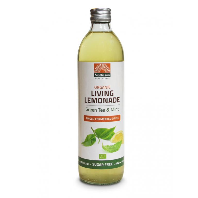 Living Lemonade Green & Tea Mint Bio (500 ml)