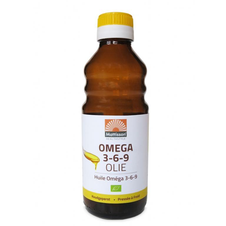 Omega 3-6-9 olie bio (250 ml)