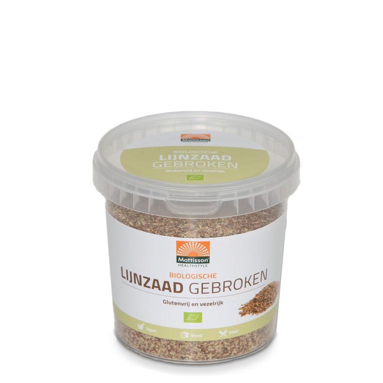 Gebroken Lijnzaad Bio (300 gram)