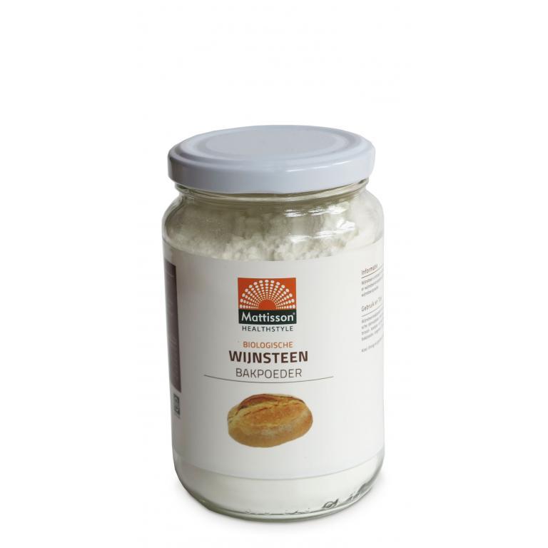 Wijnsteen Bakpoeder Bio (220 gr)